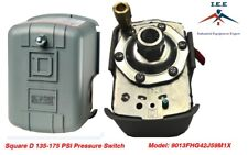 SquareD 135-175 PSI Air Compressor Pressure Switch Control Valve 9013FHG42J59M1X