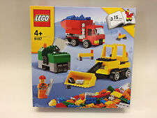 New Sealed Lego Creative Building 6187 LEGO Road Construction discontinued rare