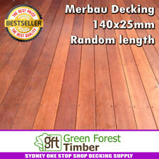 Merbau Decking 140x25mm random length