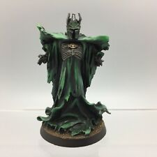 GAMES WORKSHOP WARHAMMER LORD OF THE RINGS SAURON THE NECROMANCER METAL PAINTED