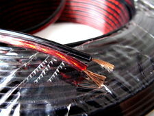 200M 60 Strands 2mm Clear BlacK Red Speaker OFC Oxygen Free Copper Wire Cable