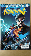 NIGHTWING #3 IVAN REIS VARIANT FIRST PRINT DC COMICS (2016) REBIRTH BATGIRL