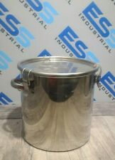 EAGLES STAINLESS STEEL 316L SCIENTIFIC LAB POT CTH-30 STRAIGHT CLIP SEALED TANK