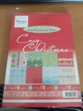 PRETTY PAPERS BLOC MARIANNE DESIGN COSY CHRISTMAS  21X15 CM 32 SHEETS 8 DESIGN