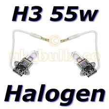 H3 mit Draht 55W Ersatz Halogen Nebelscheinwerfer Birnen Paar