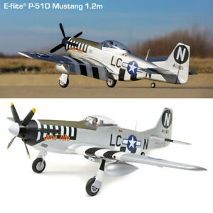 E-flite P-51D Mustang 1.2m PNP Airplane EFL8975