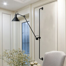 Adjustable Long Arm Wall Sconce Led Lamp Bedroom Bedside reading light fixture