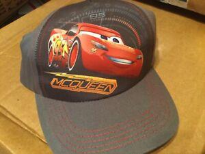 Disney Pixar Cars  Adjustable Boys Hat One Size