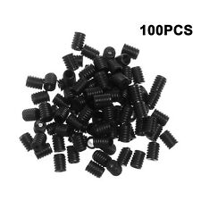 100pcs Silicone Cord Locks End Toggles Ear Loop Adjuster Buckle Elastic Stopper