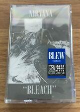 Nirvana Bleach Blew Tape Head City Cassette Blue NEW SEALED Limited of 1989
