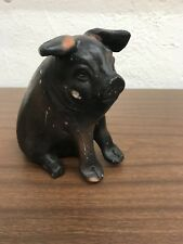 Antique Chalkware Piggy Bank