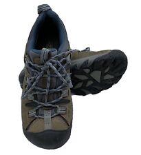 Keen Targhee II Midnight Blue/Brown Trail Hiking Waterproof Shoes Mens 8.5 US