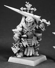 Oloch Iconic Warpriest Reaper Miniature Pathfinder Half Orc Fighter Cleric Melee