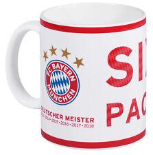 FC BAYERN MÜNCHEN Tasse Deutscher Meister 2018 Becher Kaffeebecher Kaffeetasse