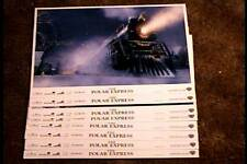 POLAR EXPRESS 2004  11X14 LOBBY CARD SET TOM HANKS