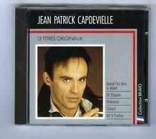 CD JEAN PATRICK CAPDEVIELLE 13 TITRES ORIGINAUX