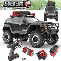 Redcat Racing Everest Gen7 Pro 1/10 Off-Road Brushed RTR Black Truck