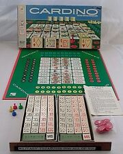 1970 Milton Bradley Cardino Playing Card Tile Strategy Game Clean Complete