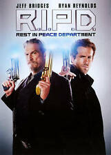 R.I.P.D. (DVD, 2013) Ryan Reynolds & Jeff Bridges Rest In Peace Department RIPD