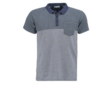 **50% OFF!!** SELECTED HOMME Patterned Polo Shirt / XXL / Cotton / RRP £25 / Fab