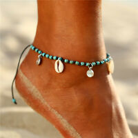 Boho Shell Beads Barefoot Sandal Beach Anklet Foot Chain Jewelry Ankle Bracelet