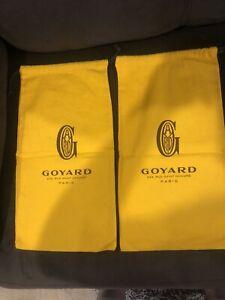 Goyard 233 Rue Saint Honore Paris Dust Bags