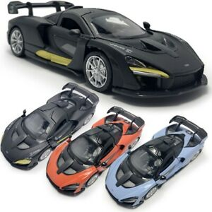McLaren Senna V8 Supercar 1:32 Model Car Diecast Gift Toy Vehicle Kids Pull Back