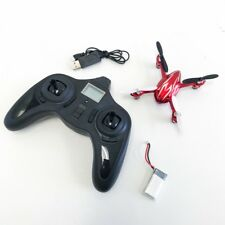 The Hubsan X4 with HD Camera 2.4ghz 4 Channel Mini Quadcopter Drone Red - USED