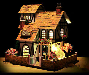 2021 My Little Cottage in Cotswolds DIY Handcraft Miniature Wooden Dolls House