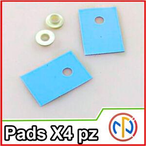 4x PAD TERMICO MICA ISOLANTE PER TRANSISTOR TO-220 con rondella Thermal Pad