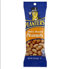 Planters Honey Roasted Peanuts, 1.75-Ounce Tubes (Pack of 18)