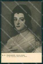 Firenze Città Mostra Ritratto Italiano 1911 Padovanino cartolina XB4991