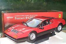 Kyosho 1:18 Ferrari 512BB Red (08171R) - BRAND NEW NEVER OPENED STILL WRAPPED!