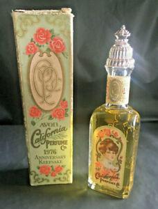 Vintage 1976 Avon California Perfume Keepsake MOONWIND Cologne Full In Box