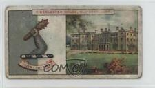 1910 Player's Country Seats & Arms 3rd Series Tobacco Base 117 Earl Bathurst 1i3