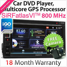 OEM Double 2 DIN Car DVD GPS Sat Nav USB MP3 Player Stereo Head Unit Radio CD OZ