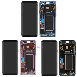 For Samsung Galaxy S9 G960/S9 Plus G965 LCD Display Touch Screen Digitizer+Frame