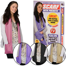 Unbranded Fleece Scarves for Men