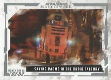 Star Wars Masterwork 2017 - AR-3 Adventures of R2-D2 Chase Card