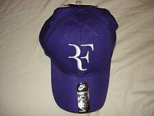 NWT Nike Federer RF Dri-FIT Hybrid Legacy 91 Tennis Hat Cap Purple 371202-547