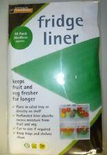 10 PACK FRIDGE LINER MATS FOR SALAD TRAY OR SHELF KEEP VEG FRUIT FRESHER FTL10PP
