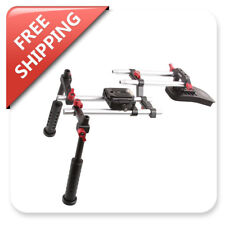 Camera Shoulder Rig Stabilizer Mounting Baseplate System for QV-1 LCD Viewfinder