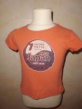 T. camisa Japan Rags Naranja Talla 4 años a -76%