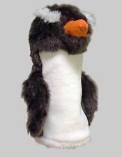Set of 3 Penguin Headcovers (1W, Fairway Wood,  Hybrid)
