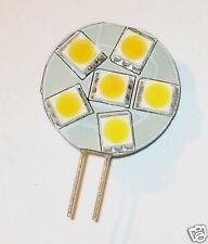 Auto Marino bombilla LED G4 Bi-pin lado 8v-30v Dc g4led6s