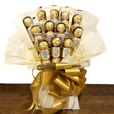 FERRERO ROCHER Luxury Chocolate Bouquet Birthday Present Gift Box Sweets Hamper