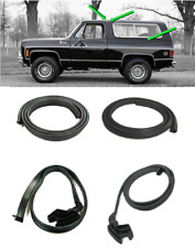 (4PC Set) Hard Top Side Weatherstrip Seal Kit for 1976-1991 Blazer & Jimmy