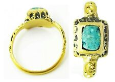 Wonderful 17th century Baroque period gold and enamel finger ring