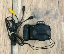 Sony DSC-H50 9.1 MP Digital Camera 15x Zoom with A/V Cord No Charger No Battery