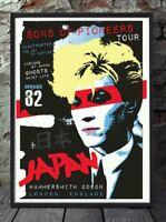 David sylvian japan poster. Specially created.